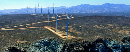 Acciona Energia is developing the San Gabriel wind farm in Chile