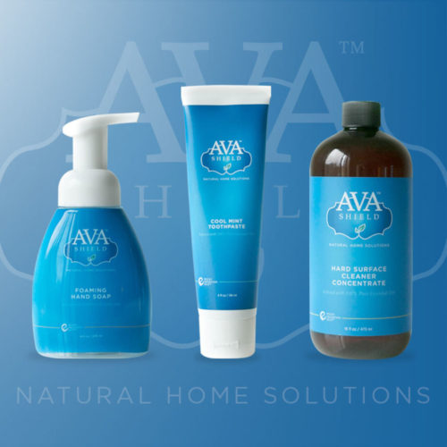 Ava Shield is a new line of all-natural personal and home care products from Rocky Mountain Oils
