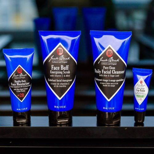 Jack Blank men's skincare brand products