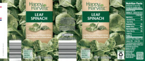 McCall Farms Happy Harvest Spinach