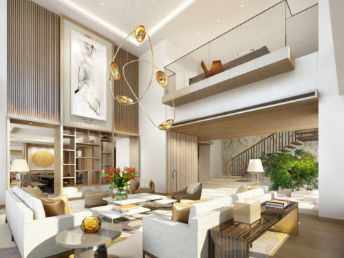 The top two (39th and 40th) guest floors of The Okura Prestige Tower in the The Okura Tokyo will be an unprecedented duplex suite.