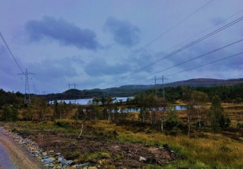 Site for Project Tonstad wind farm in Norway