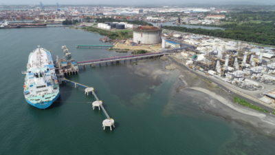 AES Colon power plant and LNG terminal in Panama.