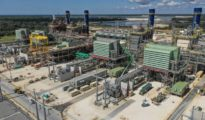 Citrus County power plant in Florida owned by Duke Energy