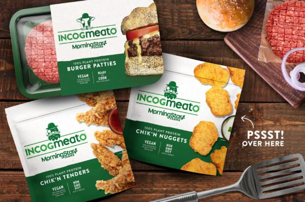 Incogmeato product range from MorningStar Farms