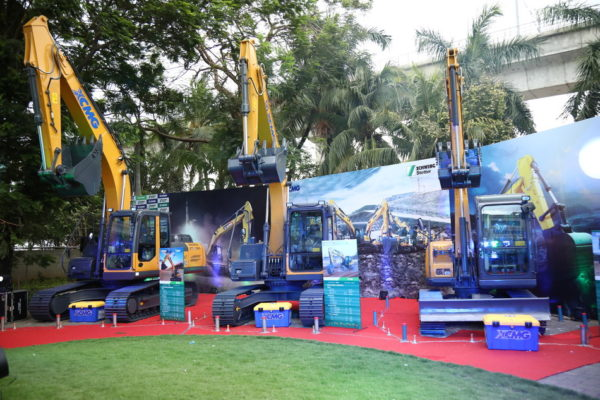 XCMG rolls out new excavator range in India