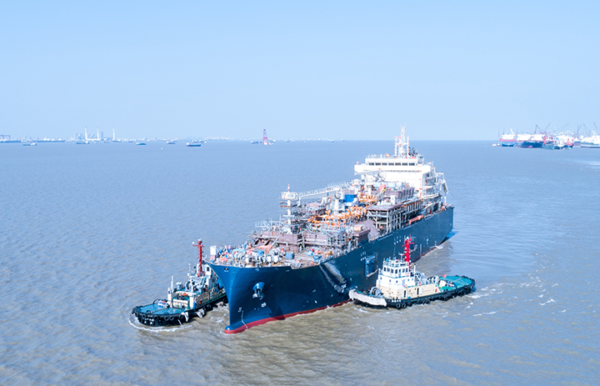 Total LNG bunker vessel set to operate from 2020.