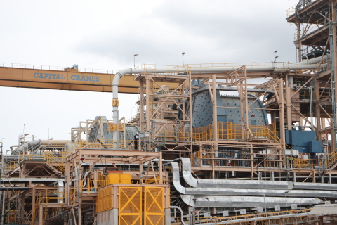 Newmont Goldcorp's Ahafo Mill Expansion project in Ghana