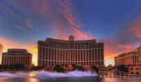 Bellagio is a resort, luxury hotel and casino in Paradise, Nevada