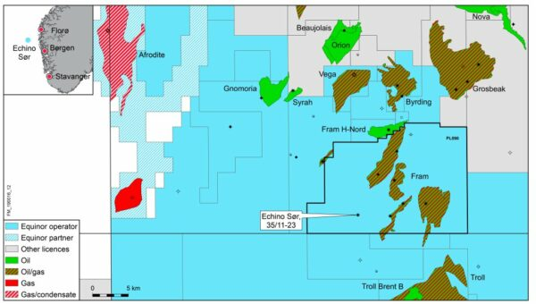 Echino South oil and gas discovery