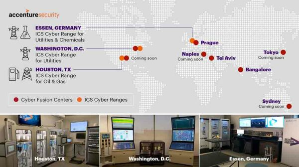Accenture expands cybersecurity through three new cyber ranges
