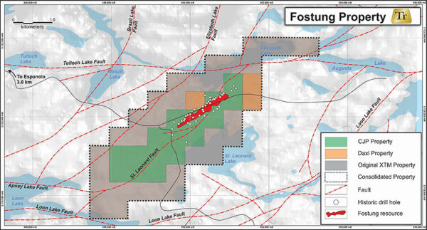 Transition Metals Corp acquires Fostung tungsten property in Ontario