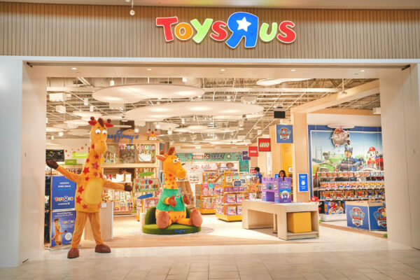 """The new Toys""""R""""Us store at Garden State Plaza in Paramus, New Jersey."""