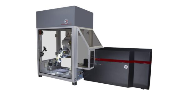 An integrated 3D bioprinter + confocal scanner (BioAssemblyBot + GE IN Cell Analyzer 6500 HS)