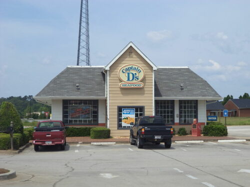 Captain D's fast casual seafood restaurant in Griffin, Spalding County, Georgia