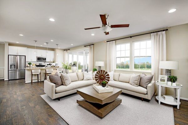 Seasons at Redwood Landing community project - A room in the Pearl floor plan.