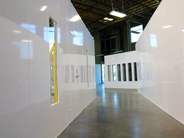 McCain Manufacturing is currently engaged in manufacturing modular walls for COVID-19 containment rooms.
