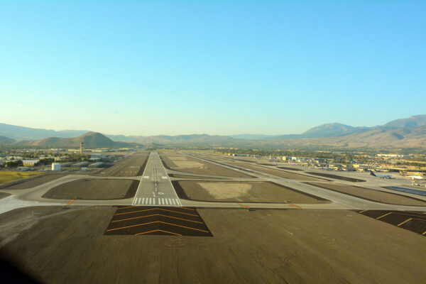 Granite bags runway reconstruction project contract for Reno-Tahoe airport