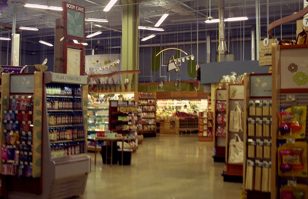 Inside a GreenWise Market grocery store