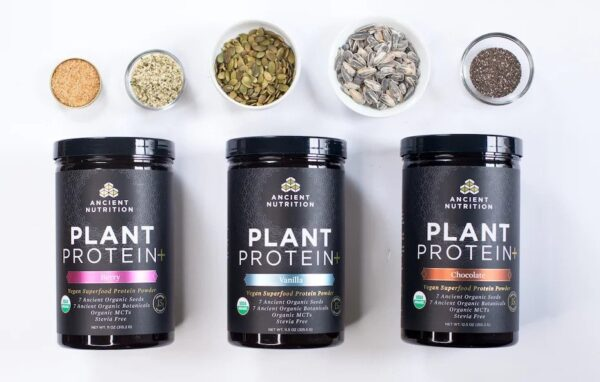Ancient Nutrition launches Plant Protein+ superfood protein powder