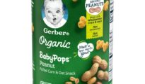 Gerber Organic BabyPops puffed corn and oat snack launched for crawlers