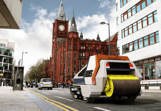 University of Liverpool and A2E have created a new joint venture called Robotiz3d for automating road maintenance