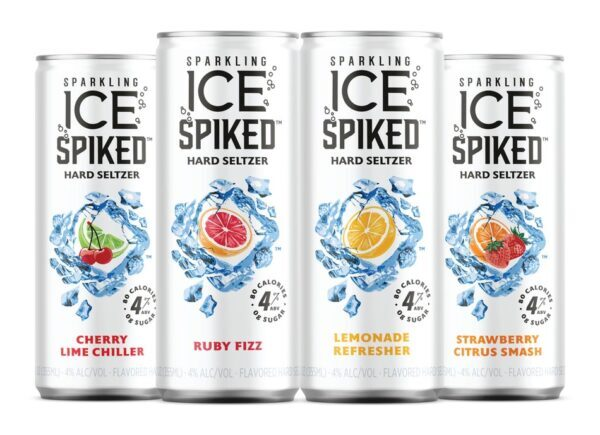 Sparkling Ice rolls out Sparkling Ice Spiked hard seltzer across US
