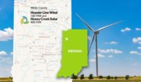 Tri Global Energy to sell Hoosier Line Wind project and Honey Creek Solar project to Leeward Renewable Energy