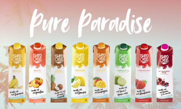 Island Oasis expands and improves beverage mixes range