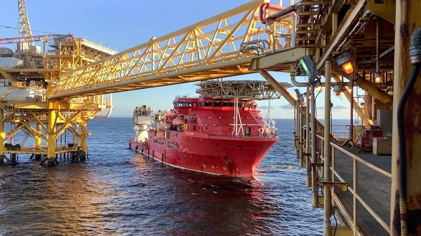 BHP begins production of oil from the Ruby oil and gas project.