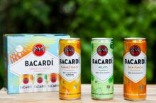Three new flavors added to BACARDÍ Real Rum canned cocktails